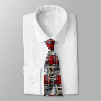 Kann das nicht schlagen bedruckte krawatte