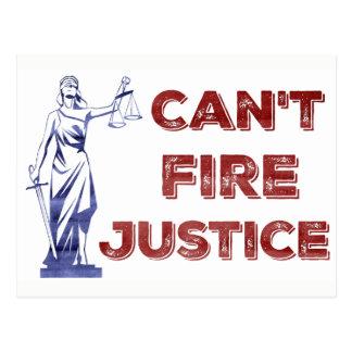 Kann Gerechtigkeits-patriotische Protest-Postkarte Postkarte