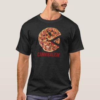 Kannibalismus-Pizza essen lustige Nahrung T-Shirt