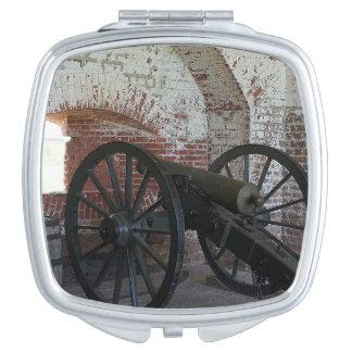 Kanone am Fort Pulaski Schminkspiegel