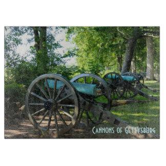Kanonen Gettysburgnationalen Militärparks
