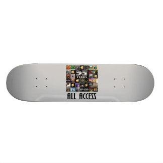 KANSAS - 35. Jahrestag Bedruckte Skateboarddecks