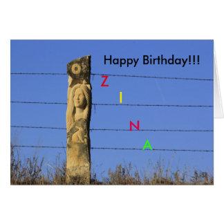 Kansas-Kalkstein, der Geburtstags-Gruß-Karte Grußkarte