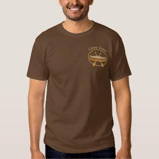 Kanu-Crew-Canoeing Sport Besticktes T-Shirt