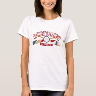 Kanu-Crew-Canoeing Sport-Emblem-grundlegender T - T-Shirt