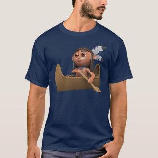 Kanu des Inder-3d T-Shirt
