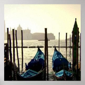 Kanu-Miniboots-Aufhänger Poster