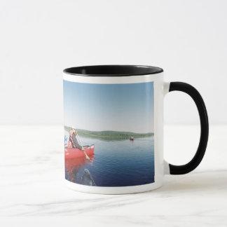 Kanu-Reise auf dem Allagash Fluss in Maine Tasse