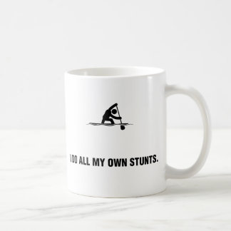 Kanu sprinten kaffeetasse