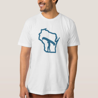 Kanu Wisconsin - Bio wandernder T - Shirt