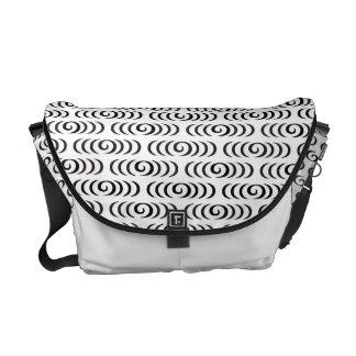 Kanzemizu japanische Muster-Bote-Tasche Kurier Tasche