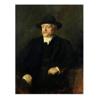 Kanzler Otto von Bismarck, 1849 Postkarte