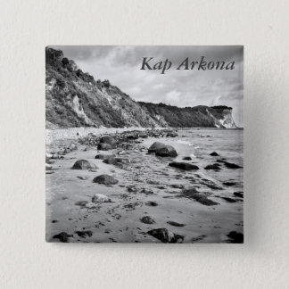 Kap Arkona, Rügen Quadratischer Button 5,1 Cm