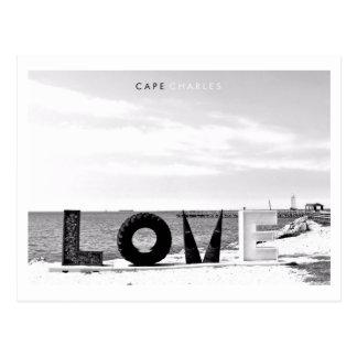 Kap Charles - Liebe Postkarte