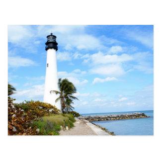 Kap-Florida-Leuchtturm Postkarte