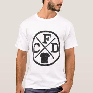 Kap-Furcht-Entwurf - Weiß T-Shirt