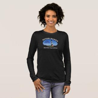 Kap Hatteras Leuchtturm-äußere Banken --T - Shirts