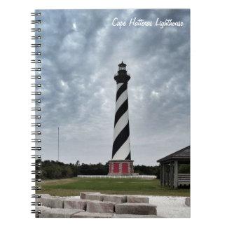 Kap Hatteras Leuchtturm-Notizbuch Spiral Notizblock