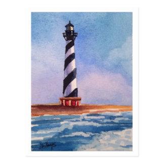 Kap Hatteras Leuchtturm-Postkarte Postkarte