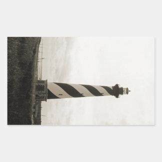 Kap Hatteras Leuchtturm Rechteckiger Aufkleber