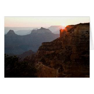 Kap-königlicher Sonnenuntergang Karte