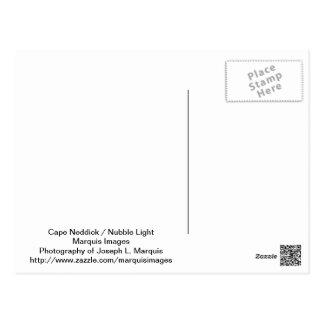 Kap Neddick - Klumpen-Licht Postkarte