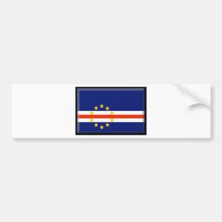 Kap-Verde Flagge Autoaufkleber