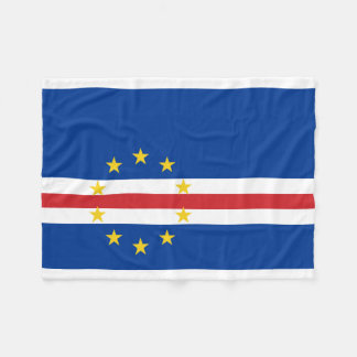Kap-Verde nationale Weltflagge Fleecedecke