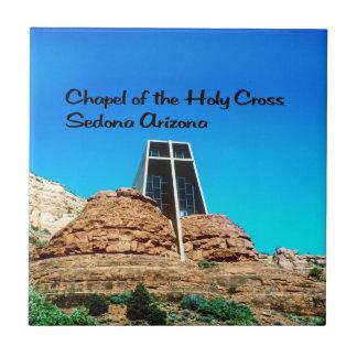 Kapelle des heiligen QuerSedona Arizona Kleine Quadratische Fliese