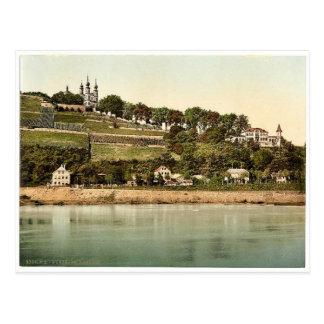 Kapelle, Würzburg, Bayern, Deutschland seltenes Postkarte
