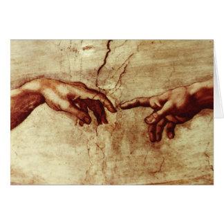 Kapellen-freier Raum Michelangelos Sistene Grußkarte