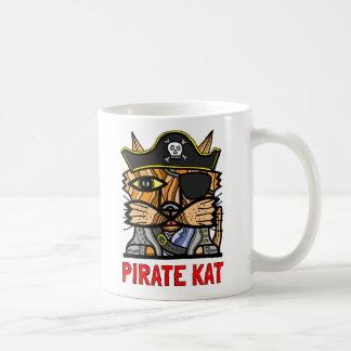 """Kapern Sie Kat"" 11 Unze-Klassiker-Tasse Kaffeetasse"
