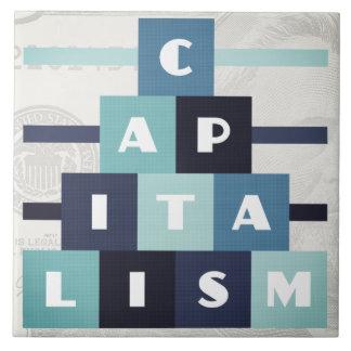 Kapitalismus Fliese