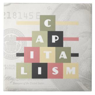 Kapitalismus Keramikfliese