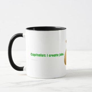 Kapitalisten schaffen Jobs Tasse