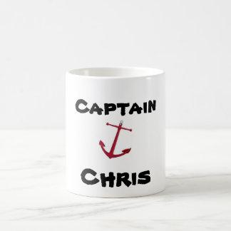 Kapitän, Chris Kaffeetasse