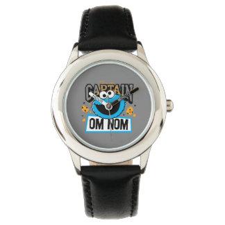 Kapitän Cookie Monster Armbanduhr
