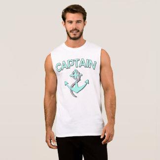 Kapitän des Bootes mit Anker Ärmelloses Shirt