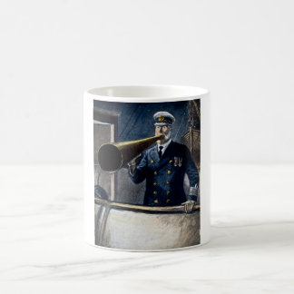 Kapitän Edward Smith RMS Titanic Vintag Kaffeetasse