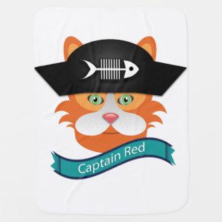 Kapitän Red - Baby umfassendes  Kinderwagendecke