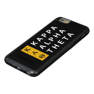 Kappa-Alpha Theta-  Staplungslogo OtterBox iPhone 6/6s Plus Hülle
