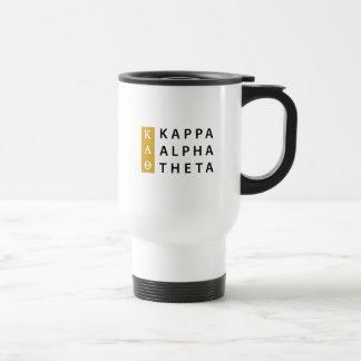 Kappa-Alpha Theta-  Staplungslogo Reisebecher