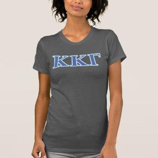 Kappa-Kappa-Gamma-Königsblau-und T-Shirt