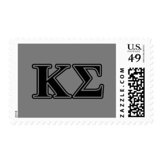 Kappa-Sigma-gotische Schriften Briefmarke