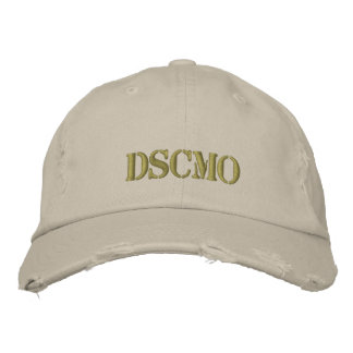 Kappen-DSCMO überwundenes Feld Bestickte Baseballkappe