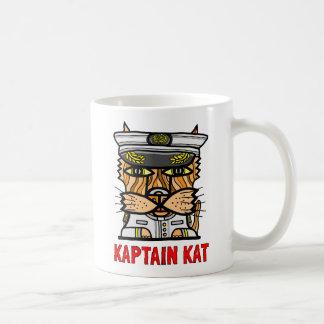 """Kaptain Kat"" 11 Unze-Klassiker-Tasse Tasse"