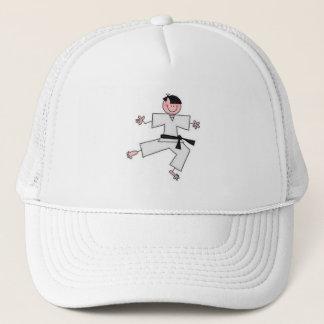 Karate-Cartoon-Hut Truckerkappe
