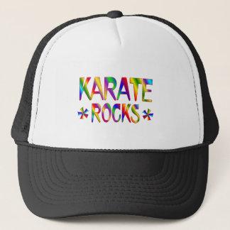Karate-Felsen Truckerkappe