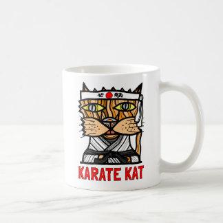 """Karate Kat"" 11 Unze-Klassiker-Tasse Tasse"