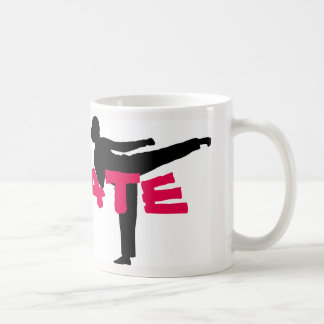 Karate-Mädchen-Tasse Tasse